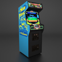 Moon Patrol Arcade Low Poly