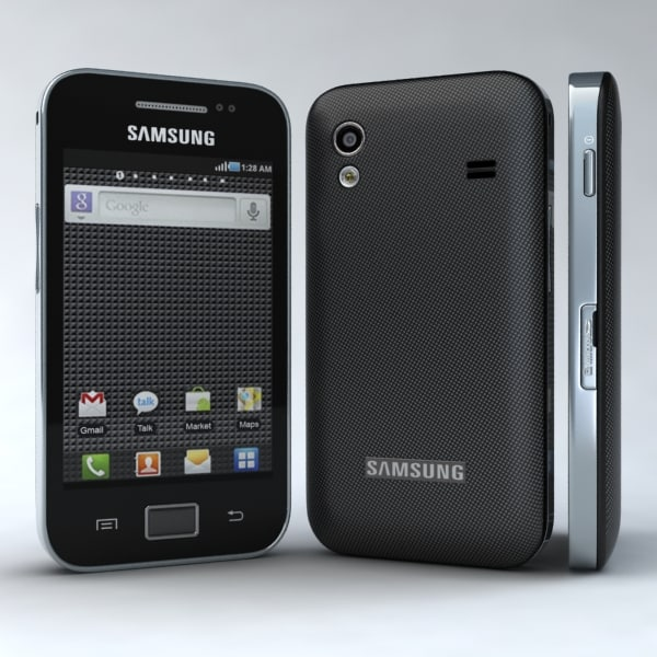 samsung galaxy ace s5830 3d model