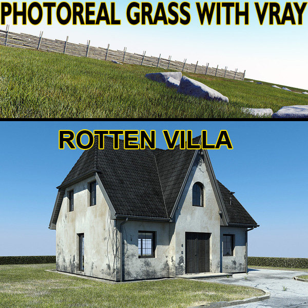rotten villa grass max