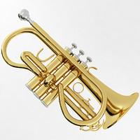 soprano cornet 3d model