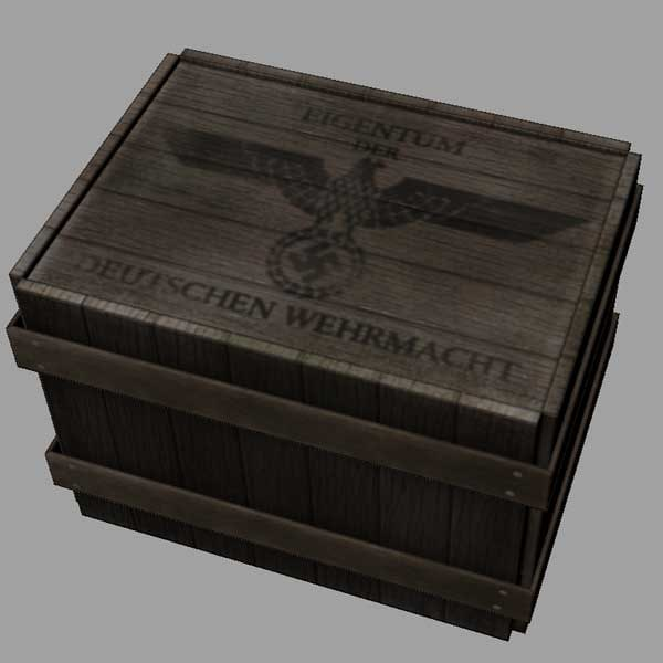 wwii crate obj