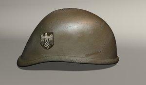 3dsmax german helmet