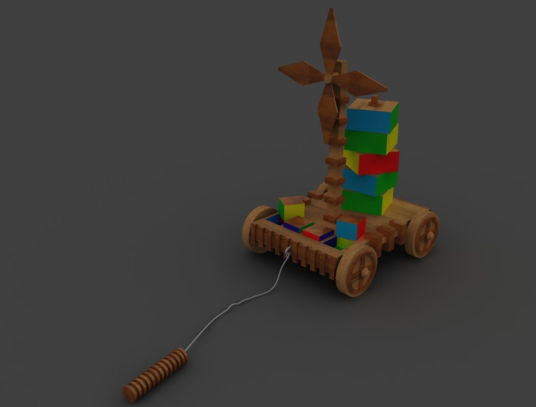 3ds max toy