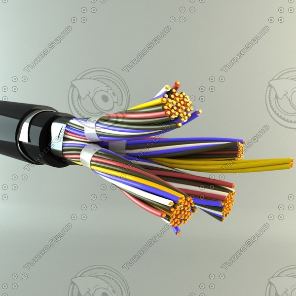 telephone cable 3ds