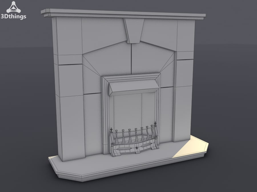 3d abbey surround arno model