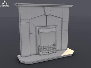 3d abbey surround arno model