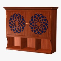 wall cabinet 3d 3ds