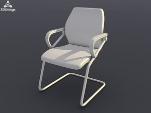 conference chair office seating 3d max