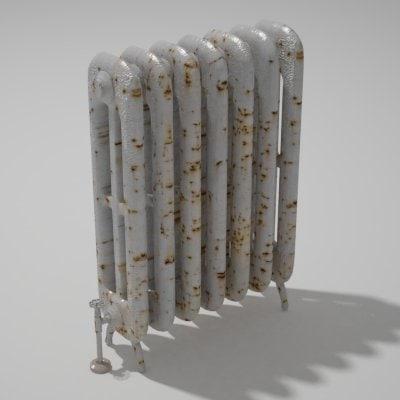 3ds max vizualisation radiator