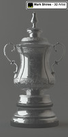 FA Cup Soccer/Football Trophy