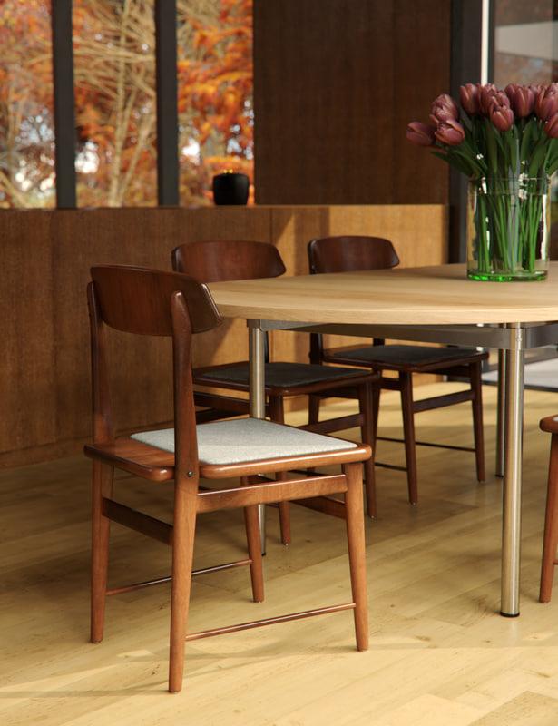 3d model of sergio lucio chair