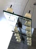 citterio lastra suspension lamp 3ds
