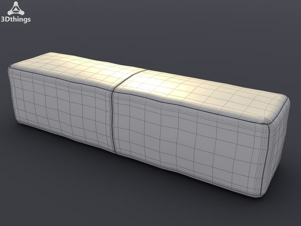 3d hand stiched fine model
