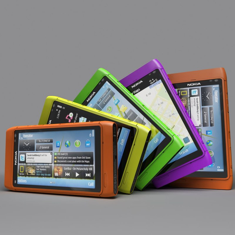 mobile mob004 3d model