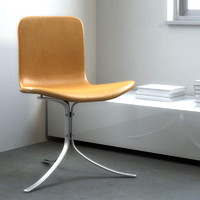 3ds max poul kjaerholm chair pk9