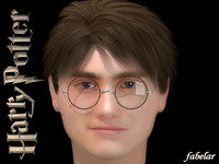 harry potter 3d max