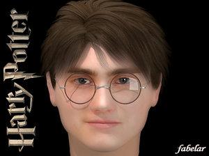 harry potter 3d max