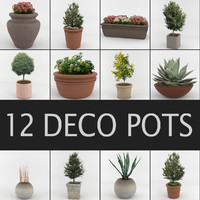 Deco Pots Set 1