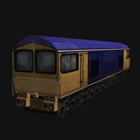TrainLowPoly