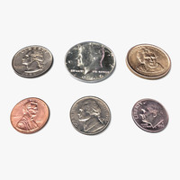 US Coins Set