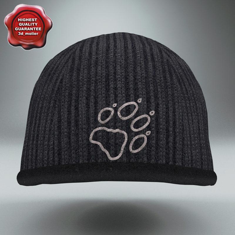 3d winter hat jack wolfskin