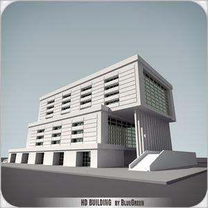 3d definition building