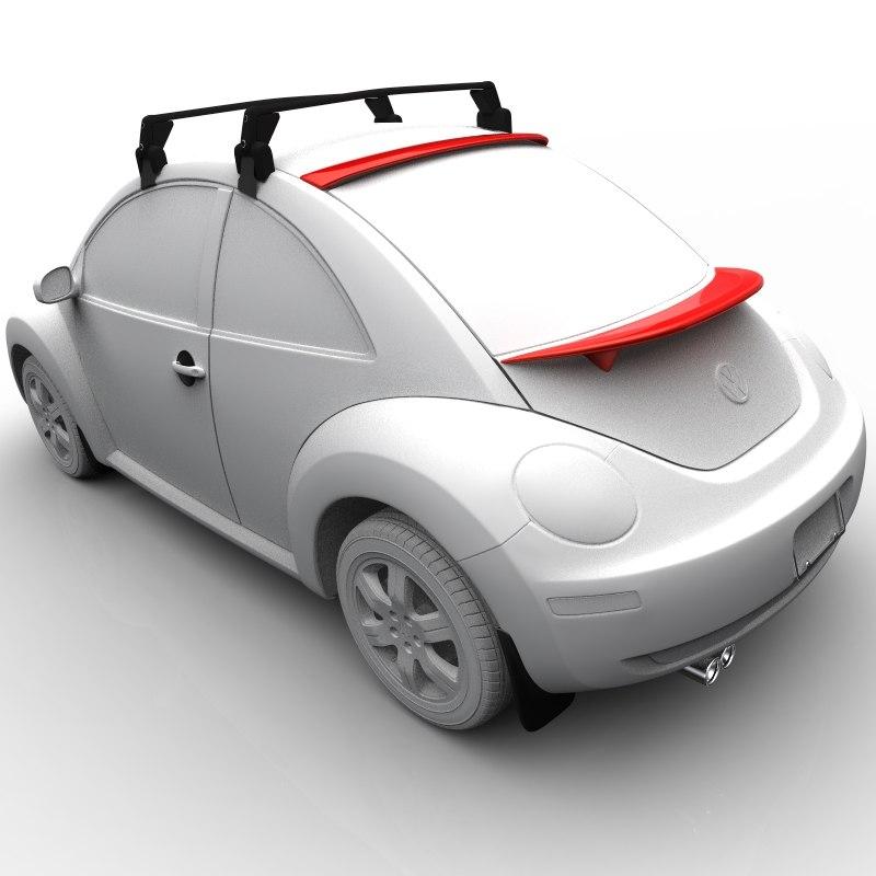 3d volkswagen beetle coupe accessories