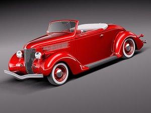 max 1936 36 convertible roadster