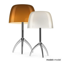 foscarini lumiere 05 table lamp 3d model