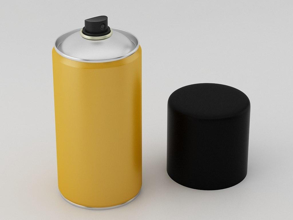 3d aerosol spray
