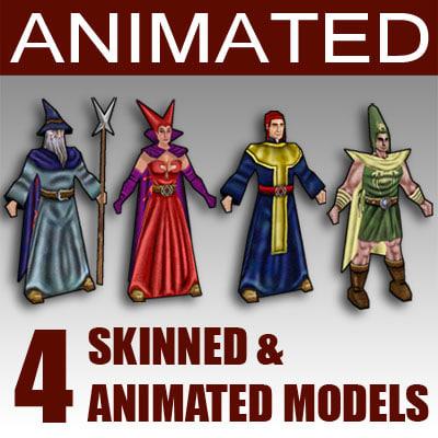 glest animation 3d max