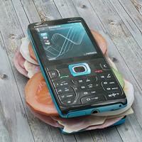 3d mobile phone model