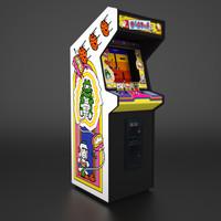 3d model arcade namco real