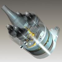 3d model of delco parts