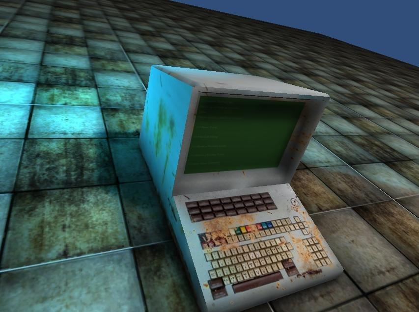 3d terminal old model