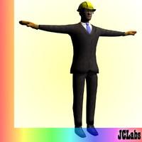 max supervisor business man