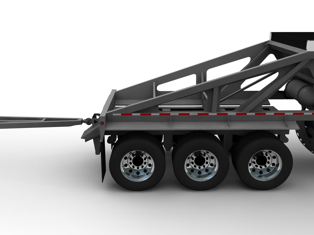 Trail King Trailer Wiring Diagram Belly Dump Free Download 3d Model Trailers At