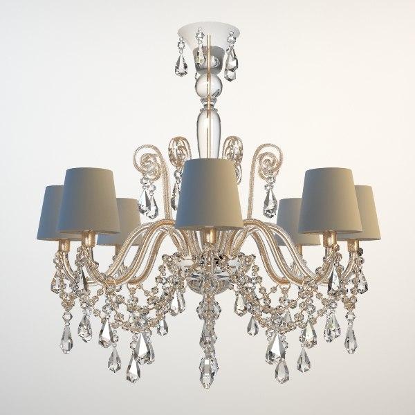 3ds max beaded chandelier