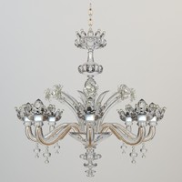 Ornate Crystal Chandelier