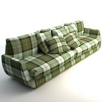 3d model sofa scottish