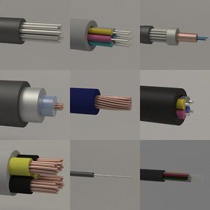 3ds max cables