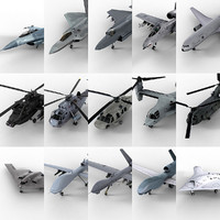 15 USAF Aircrafts