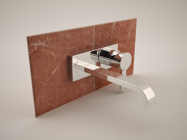 3d model grohe allure 19386 2