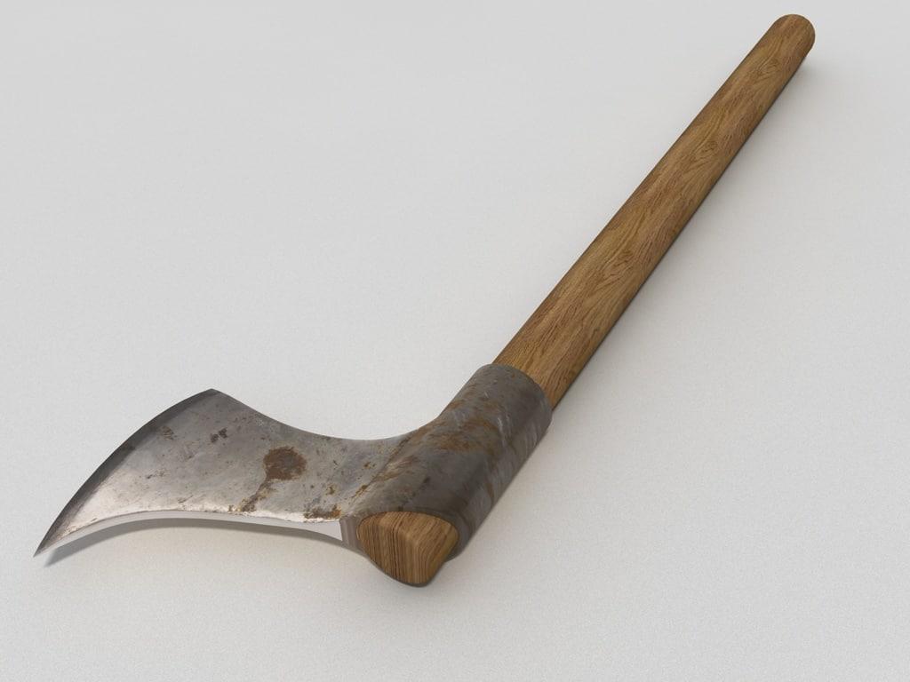 3d axe ax