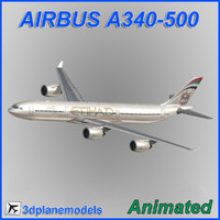 3ds max airbus a340-500