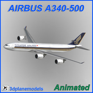 airbus a340-500 max