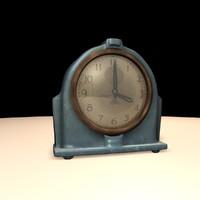 Art deco Clock-A
