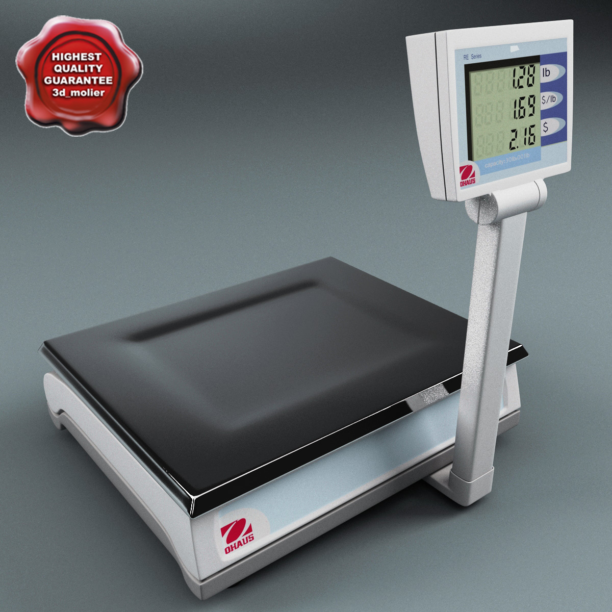 3d computing weighing scale