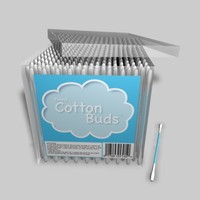 c4d cotton buds