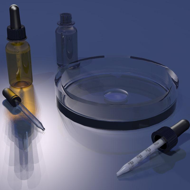 3d model eye dropper